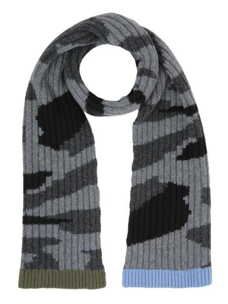 Valentino - Sciarpa Camouflage