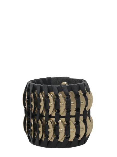 Dsquared - Samurai Bracelet With Brass Insert