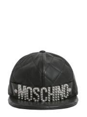 MOSCHINO - CAPPELLO CON LETTERING LOGO