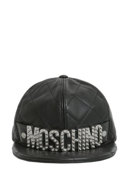 Moschino - Cappello  trapuntato Con Lettering Logo