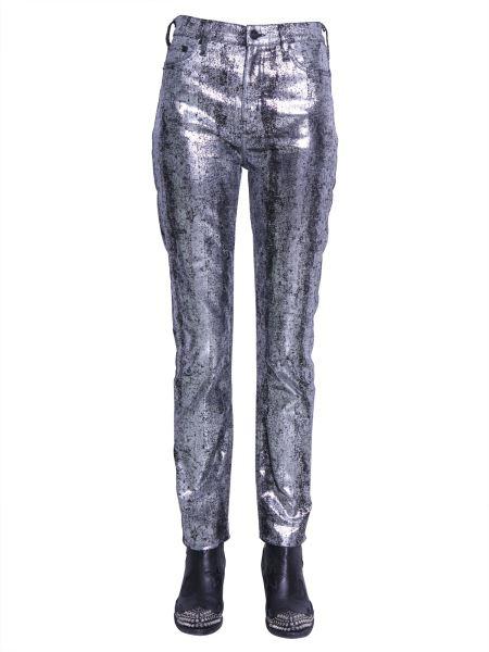Mcq Alexander Mcqueen - Jeans Cinque Tasche In Cotone Spalmato