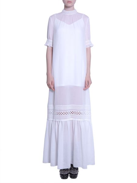Mcq Alexander Mcqueen - Maxi Dress With Lace Detail