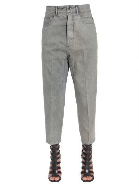 Rick Owens Drkshdw - Jeans Astaire Cropped Cut