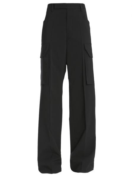 Rick Owens - Cargo Tailored Wool Trousers