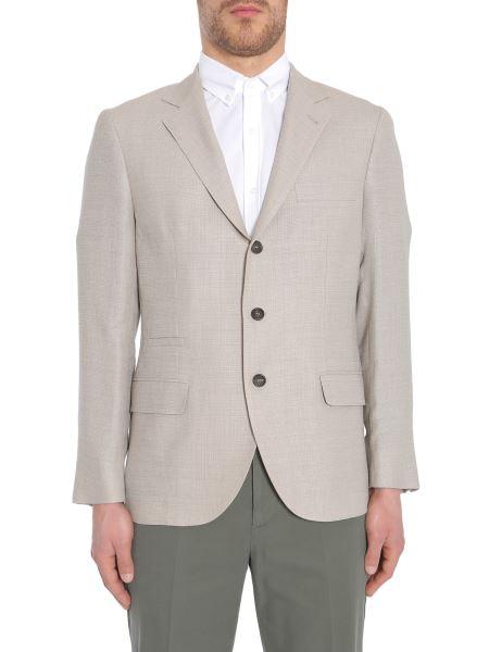 Brunello Cucinelli - Unstructured Linen, Wool And Silk Jacket