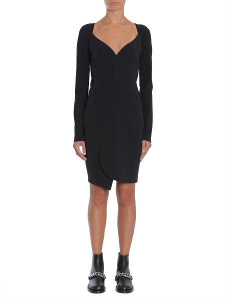 Givenchy - Stretch Cady Long Sleeve Dress