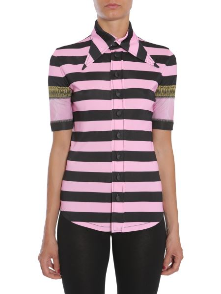 Givenchy - Striped Short Sleeve Shirt
