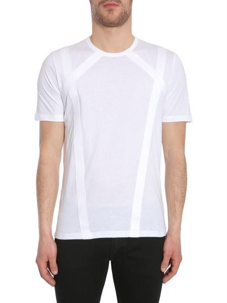 """Diesel Black Gold - T-shirt """"tsquare"""" In Cotone Con Applicazioni"""