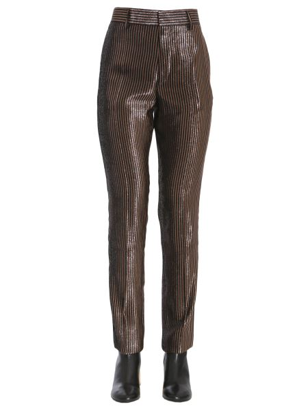 Haider Ackermann - Striped Phoenix Lurex Trousers