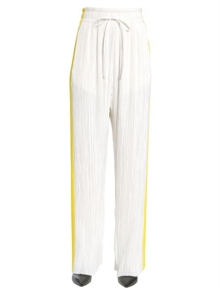 "Haider Ackermann - Pleated ""canis"" Trousers With Side Band"