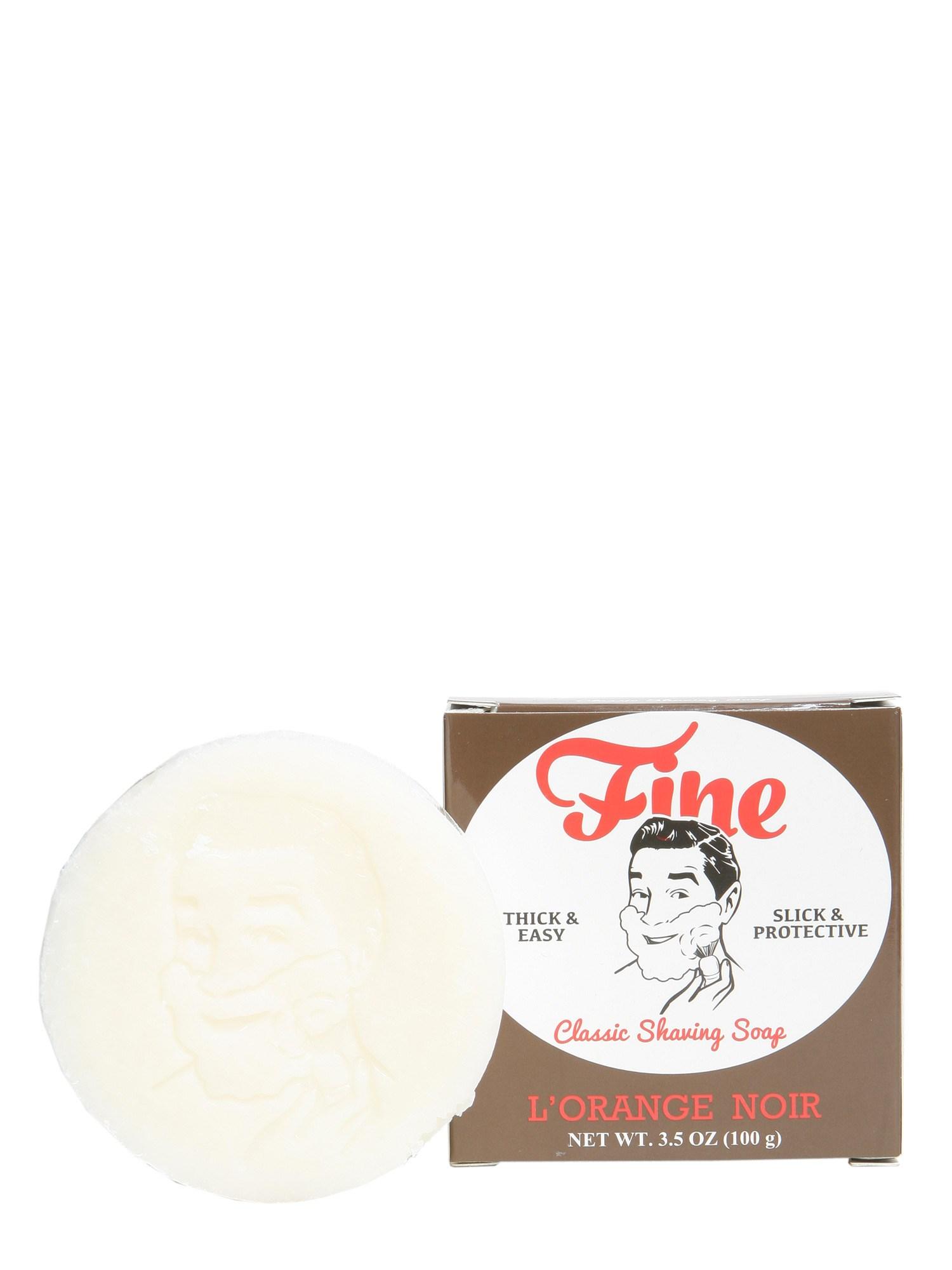 fine accoutrements shaving soap l'orange noir