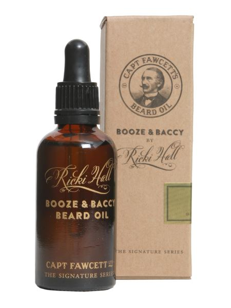 Captain Fawcett - Olio Da Barba Booze & Baccy By Ricki Hall 50 Ml