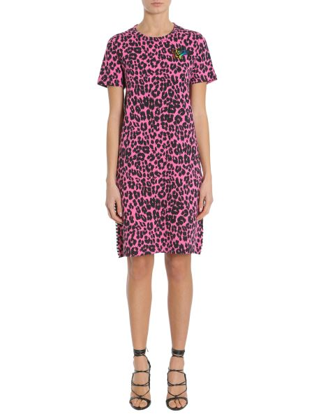 Marc Jacobs - Printed Patchwork Cotton Jersey Dress