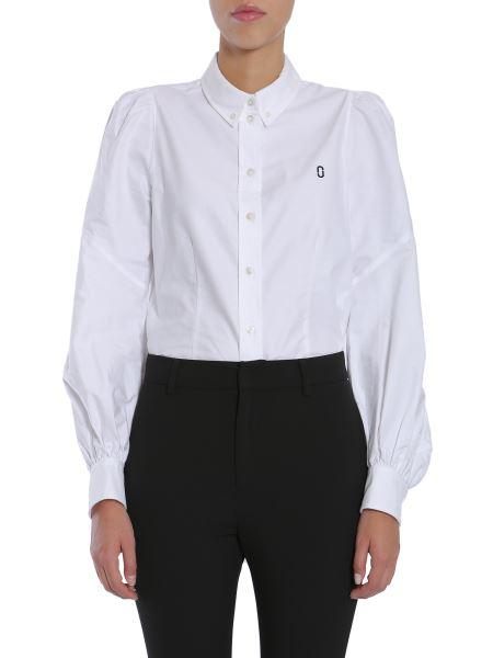 Marc Jacobs - Bishop Sleeve Button Down Cotton Shirt