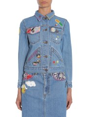 MARC JACOBS - GIACCA CORTA IN DENIM