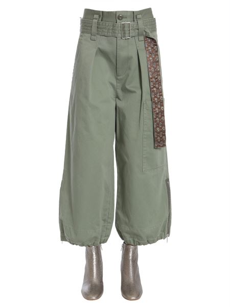Marc Jacobs - Cotton Belted Cargo Culottes