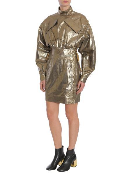 Kenzo - Hybrid Military Metalic Cotton Dress