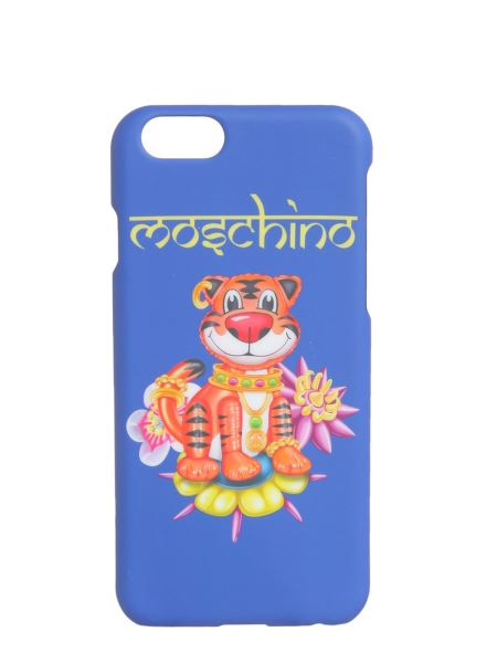 Moschino - Cover Iphone 6/6s Stampa Tigre Stile Indiano