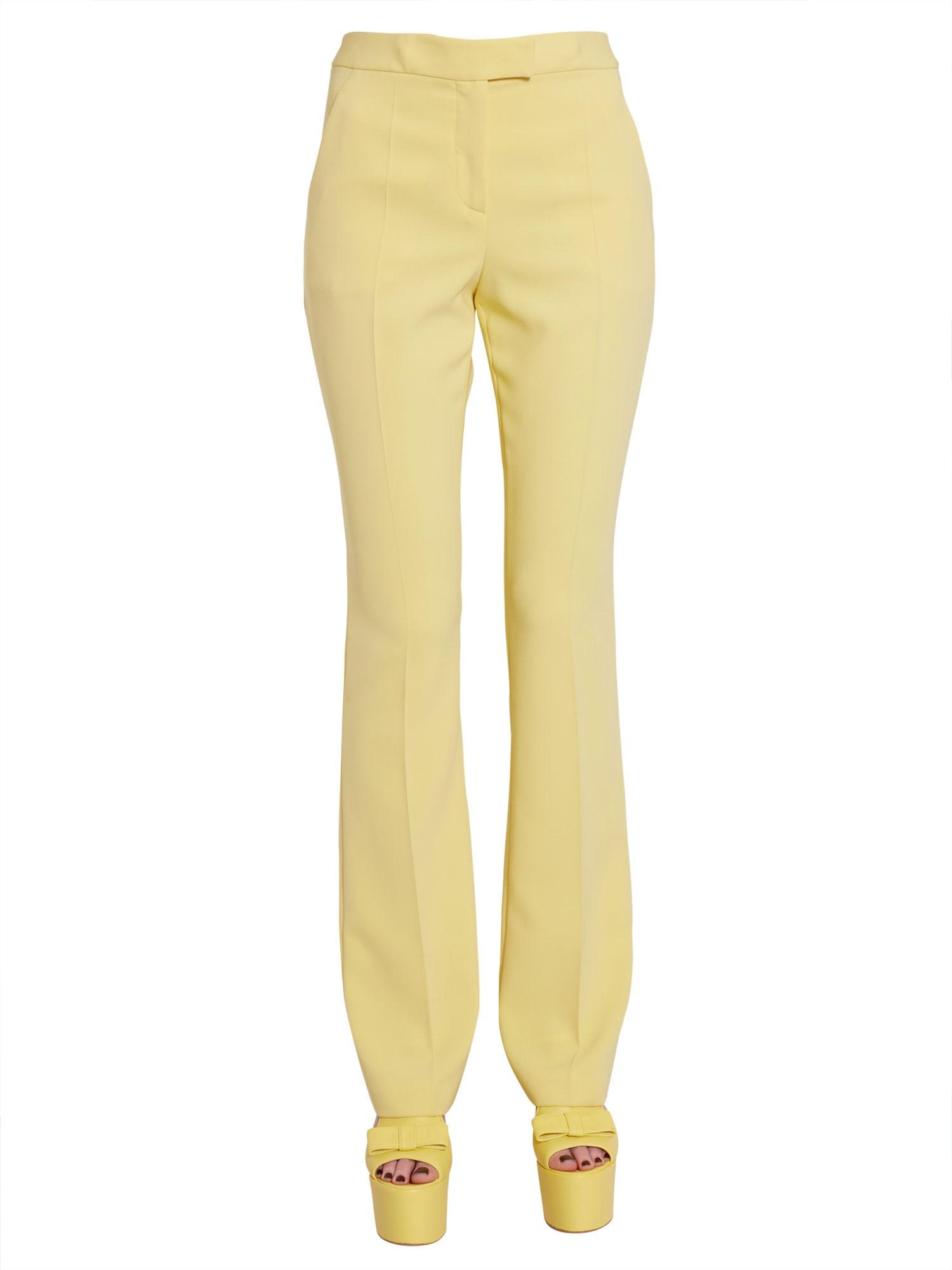 Boutique moschino flare trousers - boutique moschino - Modalova