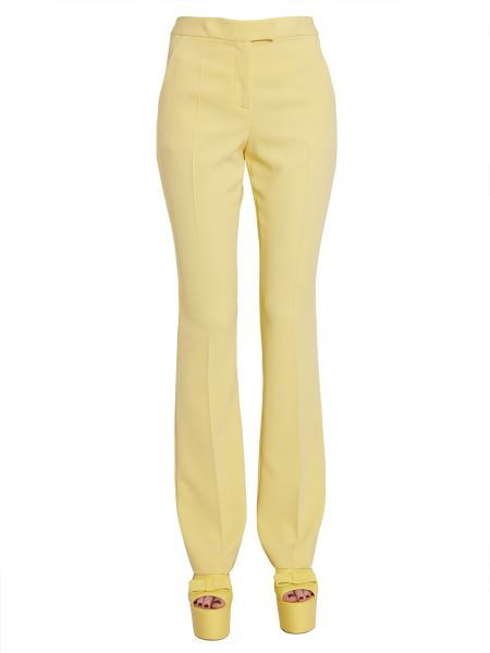 Boutique Moschino - Pantalone Flare In Crêpe