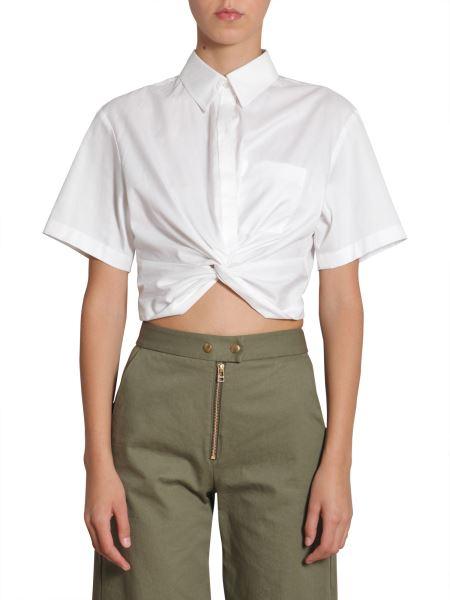 Alexanderwang.t - Twist Front Short Shirt
