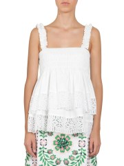 TORY BURCH - TOP GEORGETTE