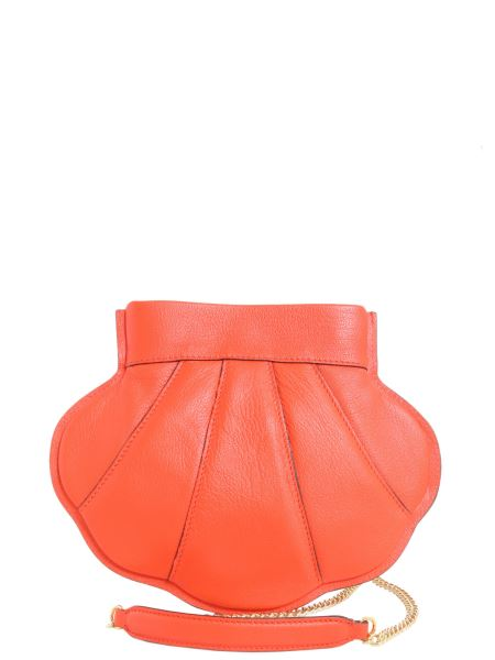 Boutique Moschino - Shell Crossbody Leather Bag