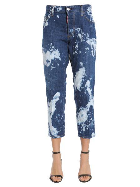 Dsquared - Tomboy Bleached Denim Jeans