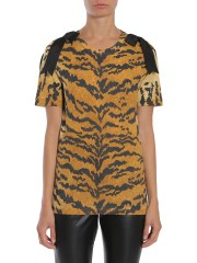 DSQUARED - T-SHIRT STAMPA LEOPARDATA