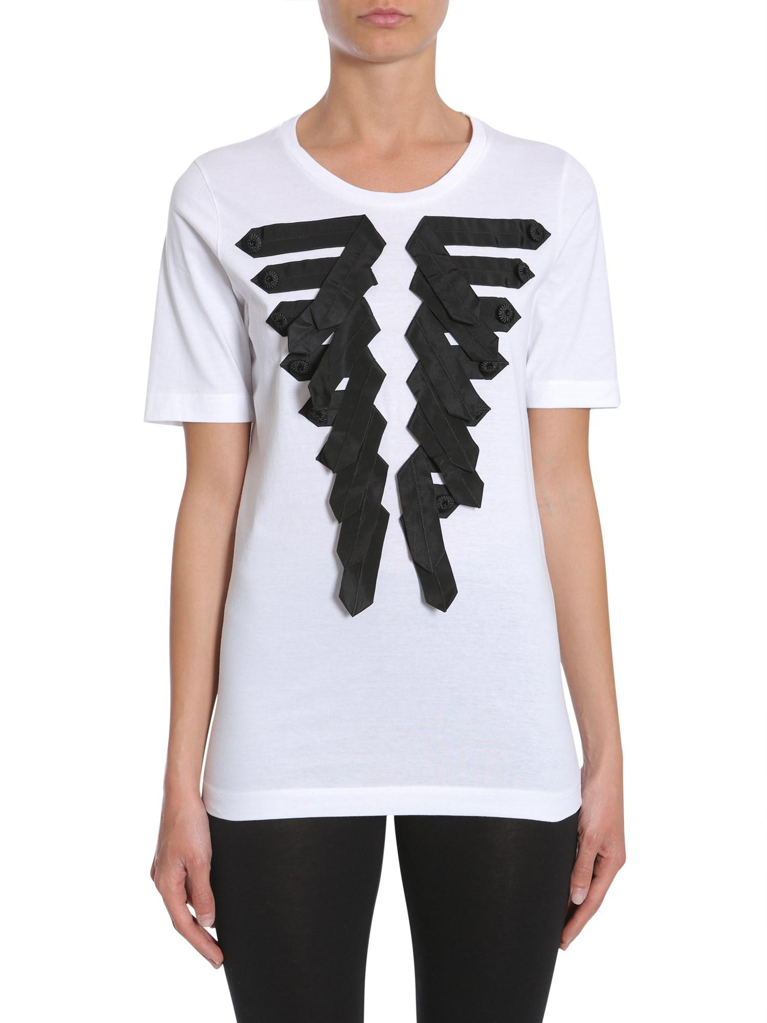 Dsquared round collar t-shirt - dsquared - Modalova