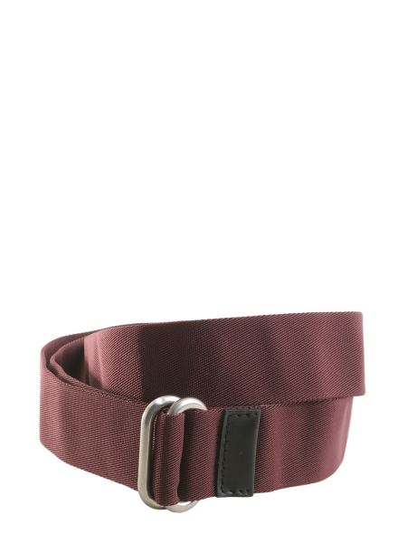 Marni - Grosgrain Belt With Leather Insert