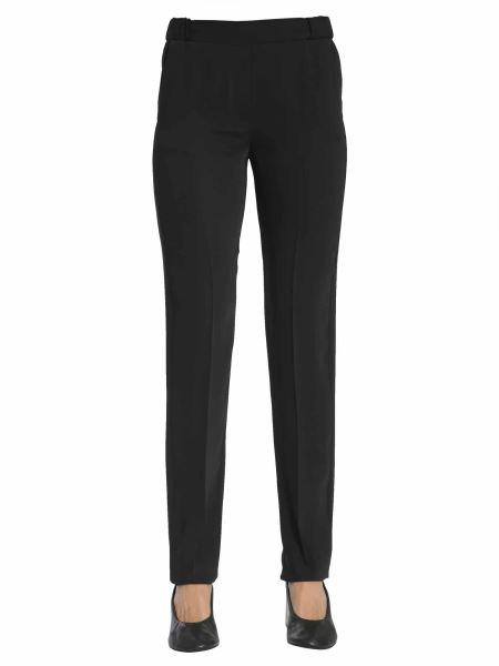 Mm6 Maison Margiela - Classic Cady Trousers With Elastic Waistband