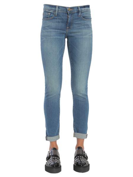 """Frame - Denim Stretch Cotton """"le Garcon"""" Jeans"""