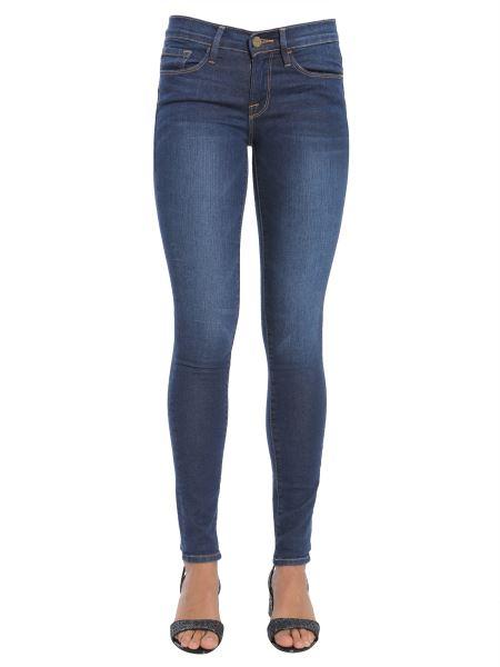 """Frame - Jeans """"le Skinny De Jeanne"""" In Denim Stretch Di Cotone"""
