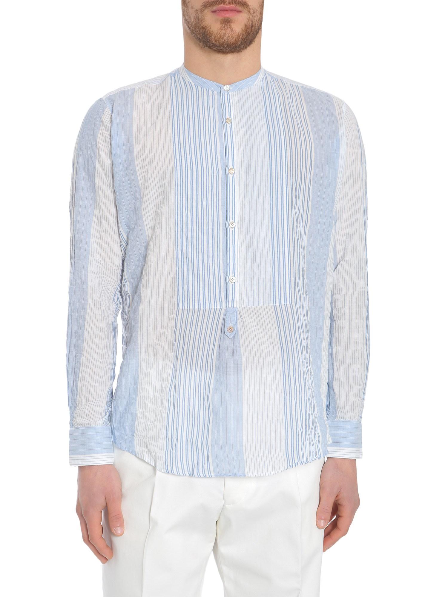 The gigi mandarin collar shirt - the gigi - Modalova