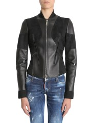 DSQUARED - GIACCA IN PELLE