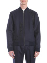 VERSACE COLLECTION - BOMBER IN PANNO DI LANA