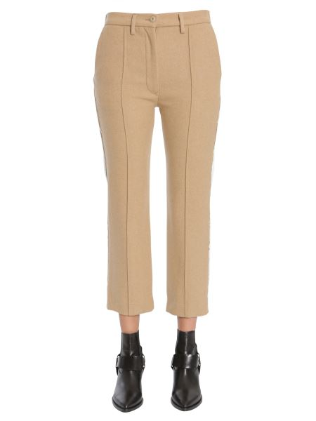 Mm6 Maison Margiela - Mixed Material Trousers
