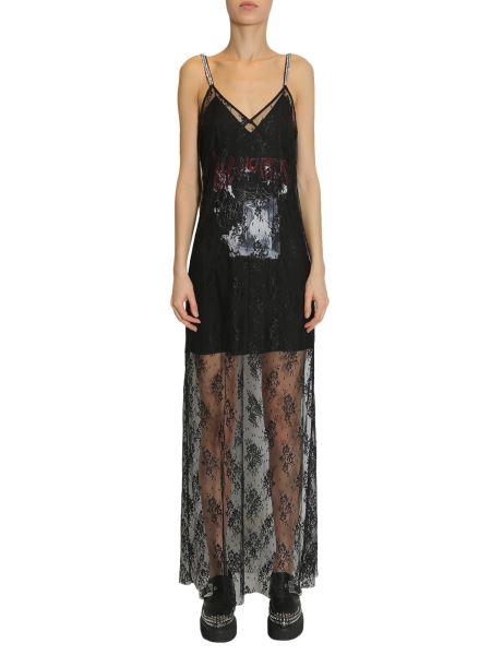 Mcq Alexander Mcqueen - Sleeveless Long Lace Dress
