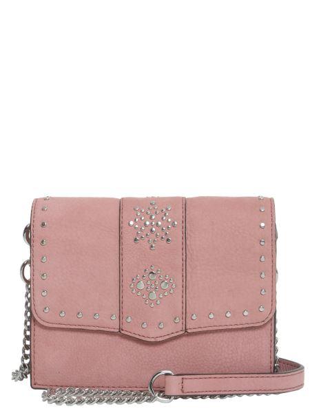 Rebecca Minkoff - Stargazing Small Flap Crossbody Bag In Nubuck Leather