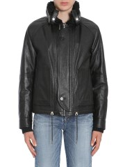 SAINT LAURENT - BOMBER IN PELLE