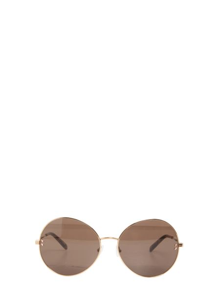 Stella Mccartney - Essentials Sunglasses With Mirrored Leather