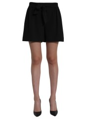 BOUTIQUE MOSCHINO - SHORT CON FIOCCO IN VITA