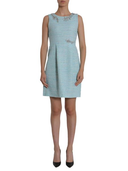 Boutique Moschino - Embellished Tweed Dress
