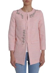 BOUTIQUE MOSCHINO - CAPPOTTO  IN TWEED