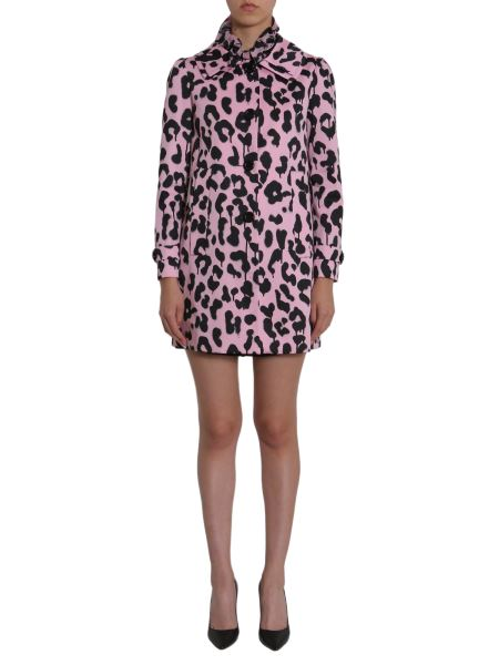 Boutique Moschino - Leopard Printed Cotton Coat