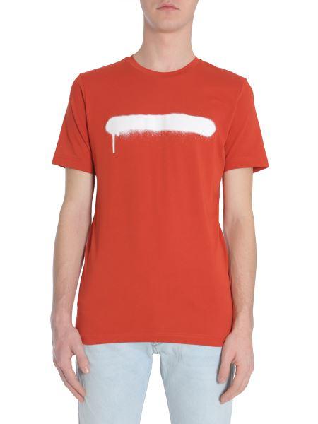 Diesel Black Gold - Ty-sprayline Cotton Jersey T-shirt
