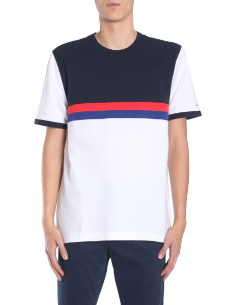 Tommy Hilfiger Menswear - T-shirt Oversized In Jersey Di Cotone Color Block