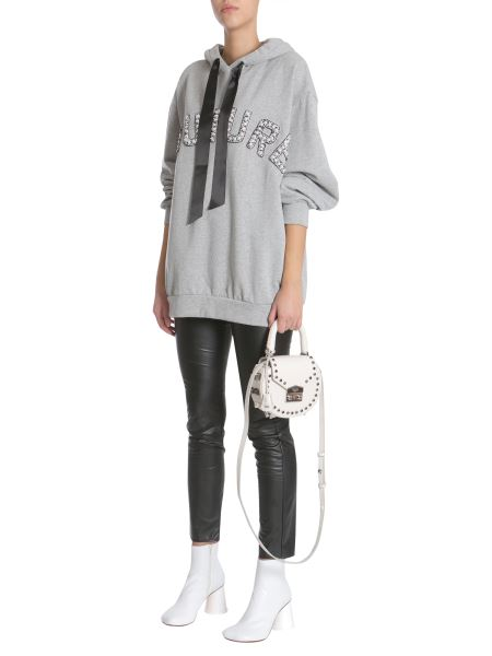 Forte Couture OVERSIZED HOODED SWEATSHIRT