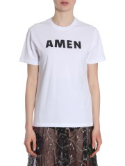AMEN - T-SHIRT IN JERSEY DI COTONE